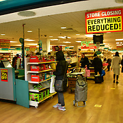 During the coronavirus in UK lockdown seen people shopping in Poundland, at Walthamstow Shopping mall,on 28 March 2020 London.