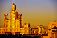 """""""Stalin Gothic Skyscraper"""" (now apartments), Moscow, Russia"""