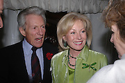 The Earl of Lichfield and Lady Annunciata Asquith. Cartier dinner after thecharity preview of the Chelsea Flower show. Chelsea Physic Garden. 23 May 2005. ONE TIME USE ONLY - DO NOT ARCHIVE  © Copyright Photograph by Dafydd Jones 66 Stockwell Park Rd. London SW9 0DA Tel 020 7733 0108 www.dafjones.com