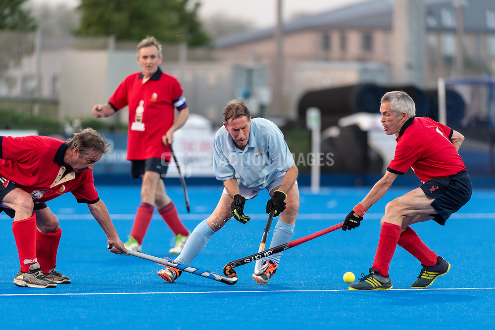 Trojans v Iceni Rex Essex - Men's O60s T2 Final, Lee Valley Hockey & Tennis Centre, London, UK on 06 May 2018. Photo: Simon Parker