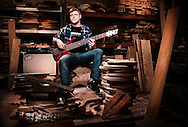 Roscoe Guitars' Jacob Durham. JERRY WOLFORD and SCOTT MUTHERSBAUGH / Perfecta Visuals