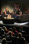 l to r: Queen Latifah and Ananda Lewis at A Conversation with a Queen presented by the 2008 Urbanworld Film Festival and BET Networks at The Directors Guild of America in NYC on September 13, 2008