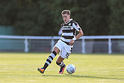 Forest Green Rovers Charlie Cooper(20) on the ball during the Pre-Season Friendly match between Shortwood United and Forest Green Rovers at Meadowbank Ground, Nailsworth, United Kingdom on 14 July 2017. Photo by Shane Healey.