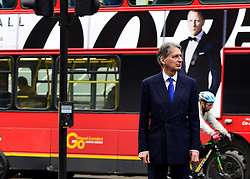 © Licensed to London News Pictures. 18/10/2012. Westminster, UK Defence Secretary Philip Hammond on Whitehall today, 18 October 2012. Photo credit : Stephen Simpson/LNP
