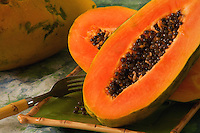 Papaya with box