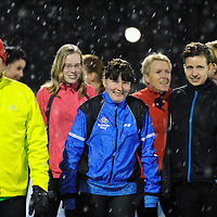 OMMEN - Kou met sporten.Leden van Aco klleumen voor de de trainings loop begint..ffu press agency©2010frank uijlenbroek..