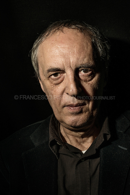 Dario Argento. Italian film director, producer and screenwriter. He is best known for his work in the horror film genre.<br /> Milano 2013.