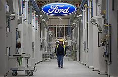 NOV 27 2014 Ford engine plant in Dagenham, Great Britain