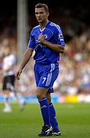 Photo: Daniel Hambury.<br />Fulham v Chelsea. The Barclays Premiership. 23/09/2006.<br />Chelsea's Andriy Shevchenko.