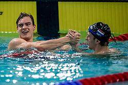 13-04-2018 NED: Swim Cup, Eindhoven<br /> Nils Konstanje wint de 50 meter vlinder
