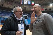 Romeo Meo Sacchetti, Dino Rada Radja<br /> Nazionale Italiana Maschile Senior - Allenamento<br /> FIP 2017<br /> Zagabria, 26/11/2017<br /> Foto M.Ceretti / Ciamillo-Castoria
