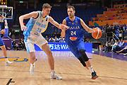 Filippo Baldi rossi<br /> Nazionale Italiana Maschile Senior<br /> Eurobasket 2017 - Group Phase<br /> Ukraina - Italia<br /> FIP 2017<br /> Tel Aviv, 02/09/2017<br /> Foto Ciamillo - Castoria/ M.Longo