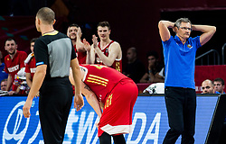 Sergey Bazarevich, head coach of Russia during basketball match between National Teams  Spain and Russia at Day 18 in 3rd place match of the FIBA EuroBasket 2017 at Sinan Erdem Dome in Istanbul, Turkey on September 17, 2017. Photo by Vid Ponikvar / Sportida