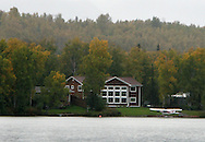 11th September 2008, Wasilla, Alaska. US Republican Vice Presidential pick Sarah Palin's Lake Lucile home. PHOTO © JOHN CHAPPLE / REBEL IMAGES.tel: +1-310-570-910