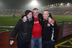Bristol City fans  - Mandatory by-line: Matt McNulty/JMP - 17/01/2017 - FOOTBALL - Highbury Stadium - Fleetwood,  - Fleetwood Town v Bristol City - Emirates FA Cup Third Round Replay
