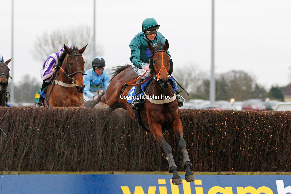 Fruity O'Rooney and Jamie Moore winning the 3.10 race