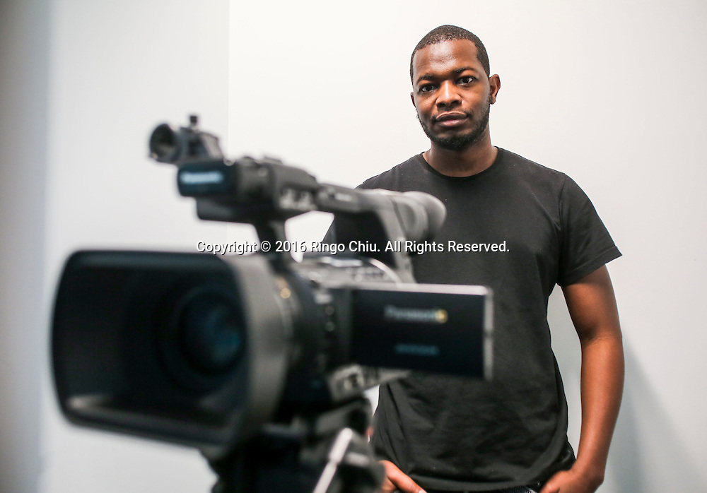 Antonio James, filmmaker who shoots micro-budget films.<br /> (Photo by Ringo Chiu/PHOTOFORMULA.com)<br /> <br /> Usage Notes: This content is intended for editorial use only. For other uses, additional clearances may be required.