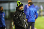 Forest Green Rovers assistant manager, Scott Lindsey during the EFL Sky Bet League 2 match between Forest Green Rovers and Lincoln City at the New Lawn, Forest Green, United Kingdom on 12 September 2017. Photo by Shane Healey.