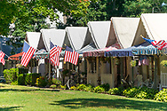 Tent Houses in Ocean Grove, NJ. Editorial Use Only