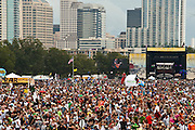 The Austin City Limits Music Festival 2009, Austin Texas, October 4, 2009.  The Austin City Limits Music Festival is an annual three-day music festival in Austin, Texas's Zilker Park.