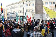 20170411 - Sit-In  Montecitorio  accoglienza ai migranti e per rispetto del diritto di asilo