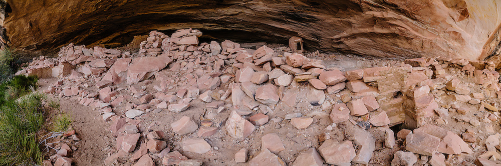 Cold Springs Cave ruins; Comb Ridge, UT