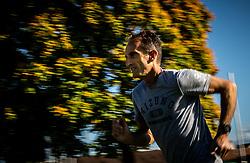 Portrait of Roman Kejzar, Slovenian former marathon athlete and coach, on October 16, 2019 in ZAK stadium, Ljubljana, Slovenia. Photo by Vid Ponikvar / Sportida