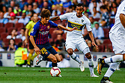 Ricky Puig from Spain during the Joan Gamper trophy game between FC Barcelona and CA Boca Juniors in Camp Nou Stadium at Barcelona, on 15 of August of 2018, Spain, Photo Xavier Bonilla / SpainProSportsImages / DPPI / ProSportsImages / DPPI
