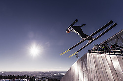10.03.2019, Holmenkollen, Oslo, NOR, FIS Weltcup Skisprung, Raw Air, Oslo, Schisprung, Einzelbewerb, Damen, im Bild Carina Vogt (GER) // Carina Vogt of Germany during the ladie's individual competition of the Raw Air Series of FIS Ski Jumping World Cup at the Holmenkollen in Oslo, Norway on 2019/03/10. EXPA Pictures © 2019, PhotoCredit: EXPA/ JFK