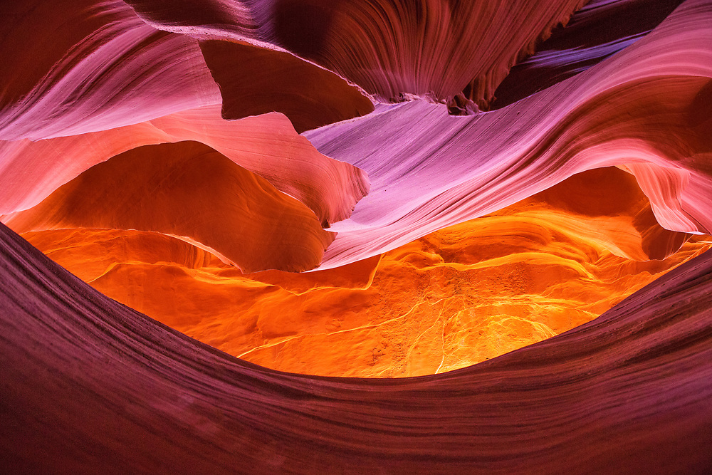 Antelope Canyon, near Page, northern Arizona, USA
