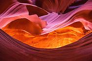 Antelope Canyon, near Page, northern Arizona, USA