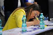 DESCRIZIONE : Campionato 2014/15 Serie A Beko Dinamo Banco di Sardegna Sassari - Grissin Bon Reggio Emilia Finale Playoff Gara3<br /> GIOCATORE : Alice Pedrazzi<br /> CATEGORIA : Rai Sport TV Ritratto<br /> SQUADRA : Rai Sport TV<br /> EVENTO : LegaBasket Serie A Beko 2014/2015<br /> GARA : Dinamo Banco di Sardegna Sassari - Grissin Bon Reggio Emilia Finale Playoff Gara3<br /> DATA : 18/06/2015<br /> SPORT : Pallacanestro <br /> AUTORE : Agenzia Ciamillo-Castoria/C.Atzori