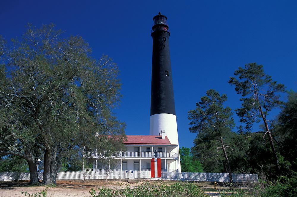 Lighthouse on Naval Air Station, Pensacola, Florida, USA