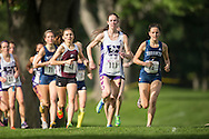 Amanda Truelove of Western runs in the women's race at the 2014 Western International Cross country meet in London Ontario, Saturday,  September 20, 2014.<br /> Mundo Sport Images/ Geoff Robins