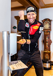 20.02.2019, Seefeld, AUT, FIS Weltmeisterschaften Ski Nordisch, Seefeld 2019, Nordische Kombination Reportage, im Bild Bernhard Gruber (AUT) // Bernhard Gruber of Austria during a Photoseries of Austrian Nordic Combined Team for the FIS Nordic Ski World Championships 2019. Seefeld, Austria on 2019/02/20. EXPA Pictures © 2019, PhotoCredit: EXPA/ JFK