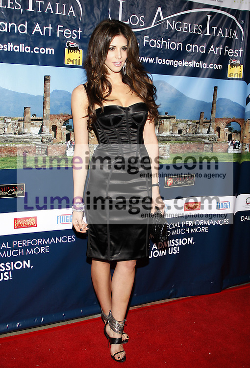 HOLLYWOOD, CA - MARCH 01, 2010: Hope Dworaczyk at the Los Angeles premiere of 'Andrea Bocelli The Story Behind the Voice' held at the Grauman's Chinese Theater in Hollywood, USA on March 1, 2010.