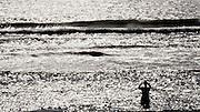 Sylt, Germany. Rantum. Sansibar. Afternoon sun at the beach.