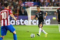 Bayern Munich's player Thiago Alcantara during match of UEFA Champions League at Vicente Calderon Stadium in Madrid. September 28, Spain. 2016. (ALTERPHOTOS/BorjaB.Hojas)