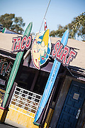 Taco Surf Restaurant in Los Alamitos Orange County California