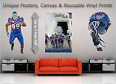 Boise State Sports Large Vinyl Prints
