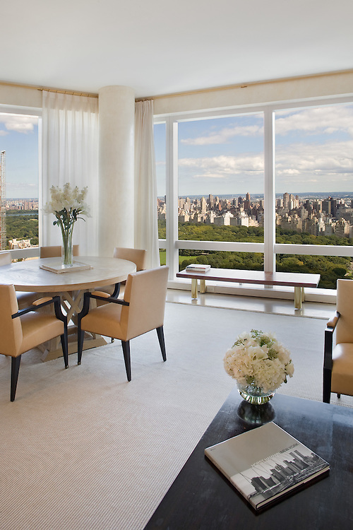 The Manhattan apartment of Bob Costas