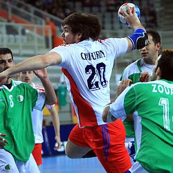 20090121: Handball - World Championship, Algeria vs Russia