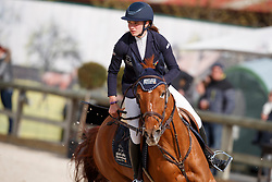 Heudens Marthe, BEL, Best Mix Elien<br /> Grand Prix CSI -Juniors Azelhof - Lier 2017<br /> © Hippo Foto - Dirk Caremans<br /> 16/04/17