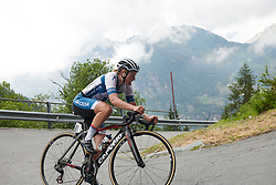 Lotta Lepistö (FIN) at Giro Rosa 2018 - Stage 7, a 15 km individual time trial from Lanzada to Alpe Gera di Campo Moro, Italy on July 12, 2018. Photo by Sean Robinson/velofocus.com