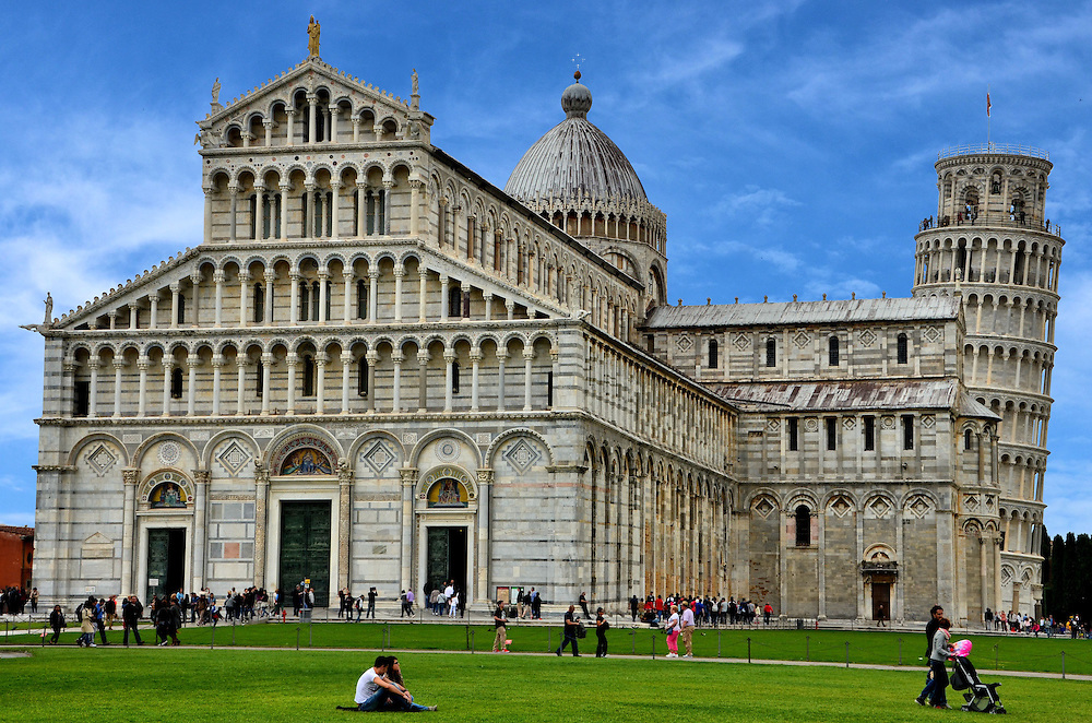 Pisa Cathedral and Leaning Tower of Pisa in Pisa, Italy | Encircle ...