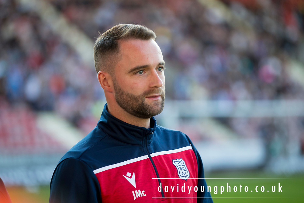 2nd Aug 2019, East End Park, Dunfermline, Fife, Scotland, Scottish Championship football, Dunfermline Athletic versus Dundee;  Dundee manager James McPake