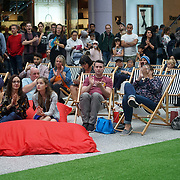 London, UK. 2nd September 2017. Family, friends, and supporters attend to see the Finalists compete for each other of the Mayor Of London Gigs at Westfield London.