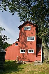 Weir Studio, Weir Farm National Historic Site, former home of painter J. Alden Weir, Branchville, Connecticut.