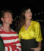 **EXCLUSIVE**.Liv Tyler and Royston Langdon.The Cain on The Cove Hotel Opening.Paradise Island, Bahamas.Friday, May 11, 2007 .Photo By Celebrityvibe.To license this image please call (212) 410 5354; or.Email: celebrityvibe@gmail.com ;