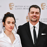 Melissanthi Mahut is an actress Arrivers at the British Academy (BAFTA) Games Awards at Queen Elizabeth Hall, Southbank Centre  on 4 March 2019, London, UK.